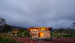 El laboratorio está ubicado en las faldas del volcán Arenal. (Foto cortesía).