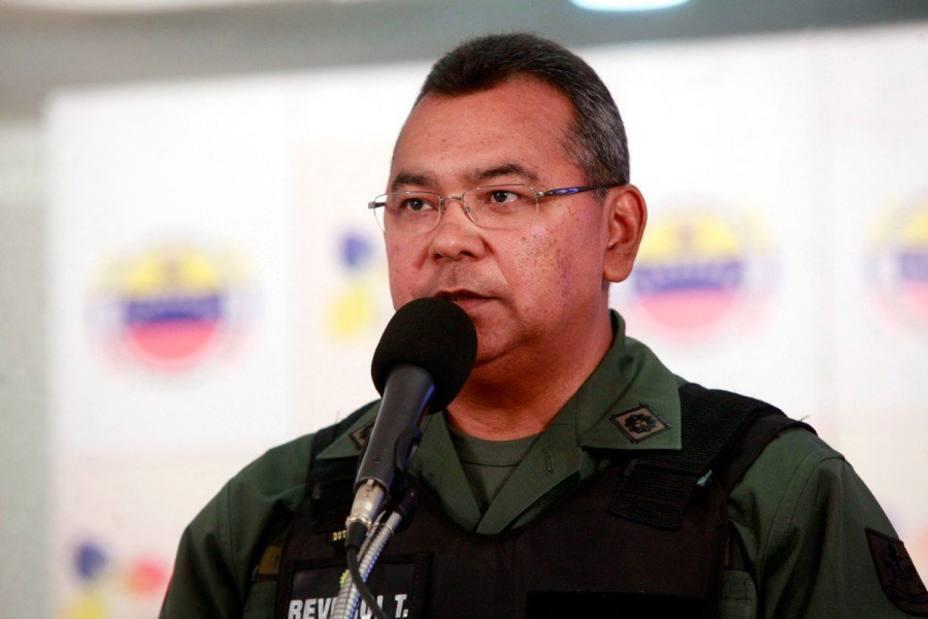 Polic a venezolana informa que mat 19 delincuentes for Nombre del ministro de interior y justicia 2016