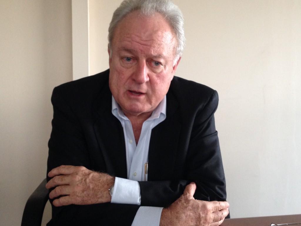 Enrique Egloff, presidente de la Cámara de Industrias. (CRH)