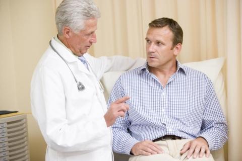 duele un examen de próstata