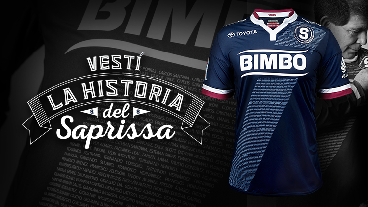 469 nombres adornan la nueva camisa del Deportivo Saprissa 0ce3e8dc84171