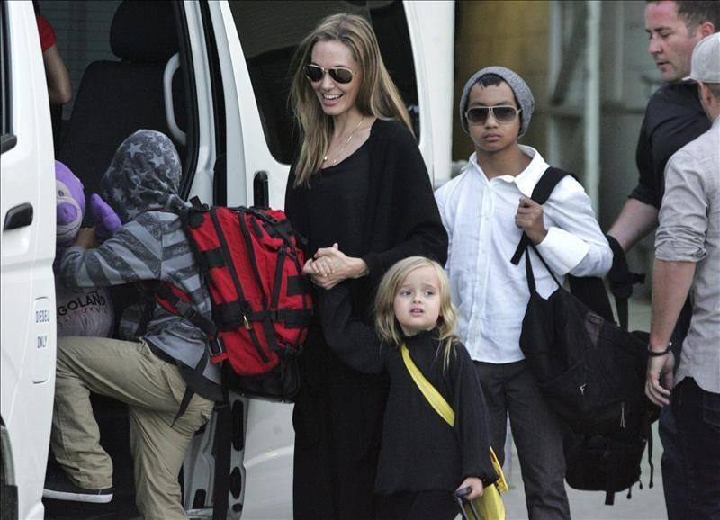 Brad Pitt habla sobre su divorcio de Angelina Jolie Angelina Jolie Brad Pitt