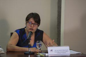Viceministra Presidencia, Ana Gabriel Zúñiga - Foto Roberto Carlos Sánchez
