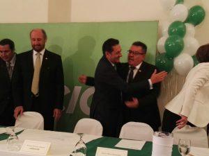 Antonio Álvarez Desanti fue proclamado oficialmente candidato del Partido Liberación Nacional a la Presidencia de la República. CHR.