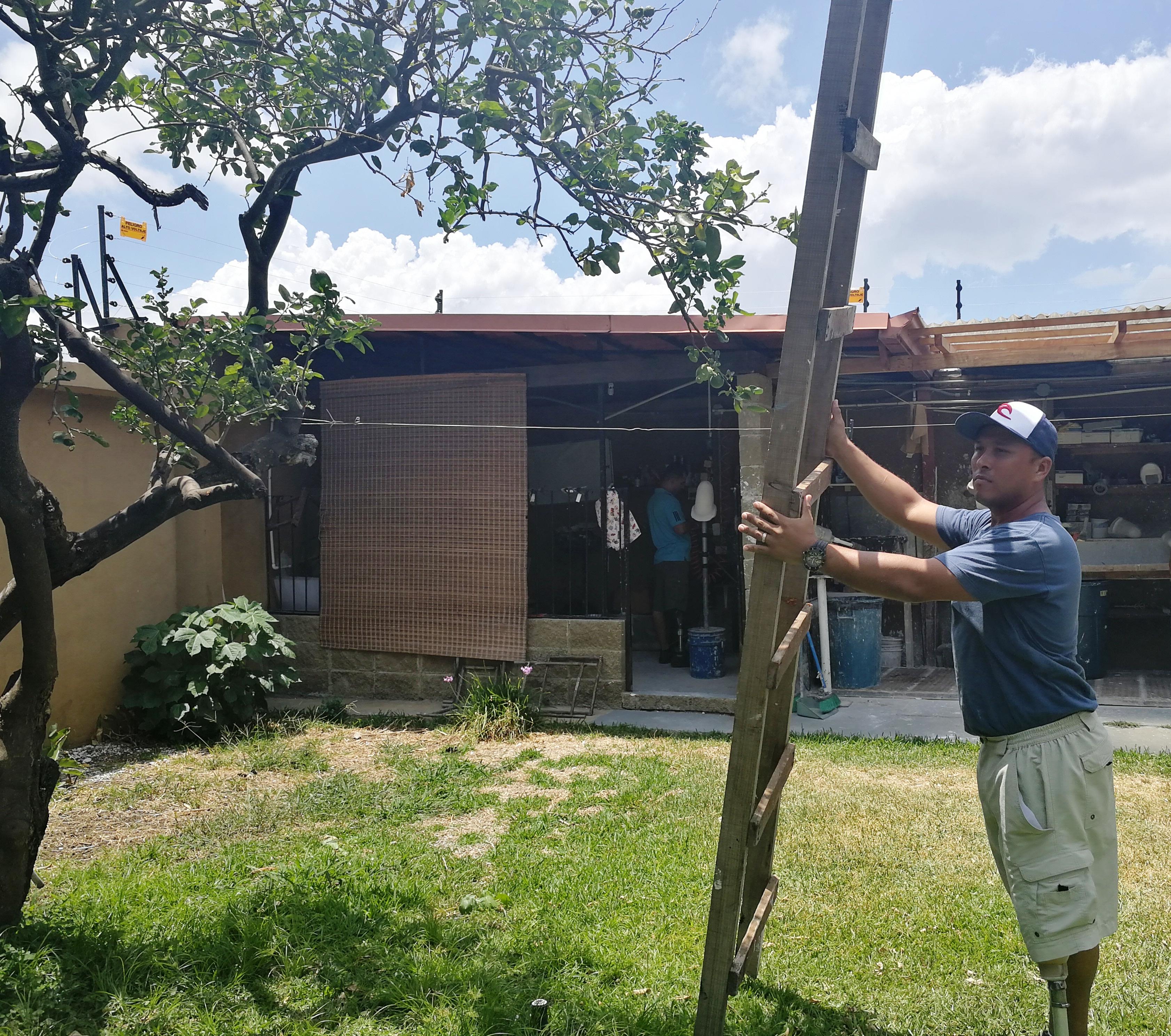 Remigio no lo dudó cuando surgió la oportunidad de trabajar en construcción. (Foto: CRH).
