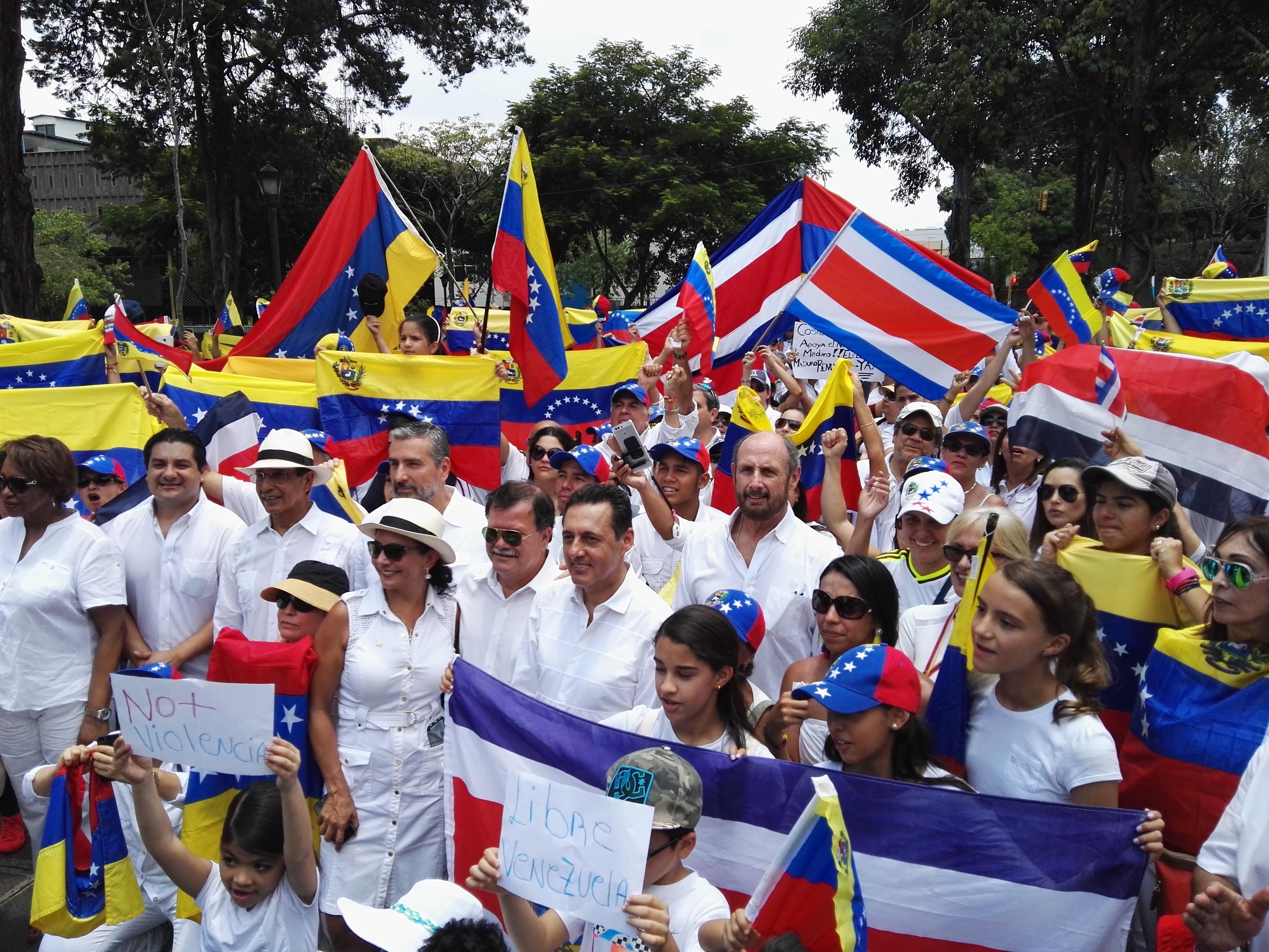 Resultado de imagen para migrantes venezolanos en Costa Rica