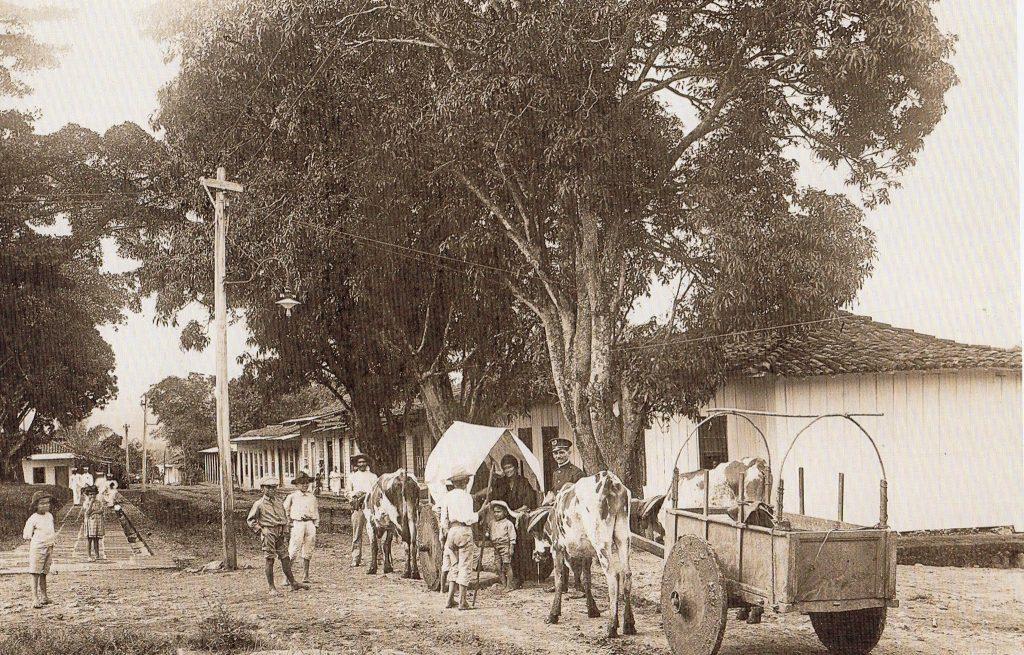Carretas de la época. Foto suministrada por el Museo Histórico Juan Santamaría.