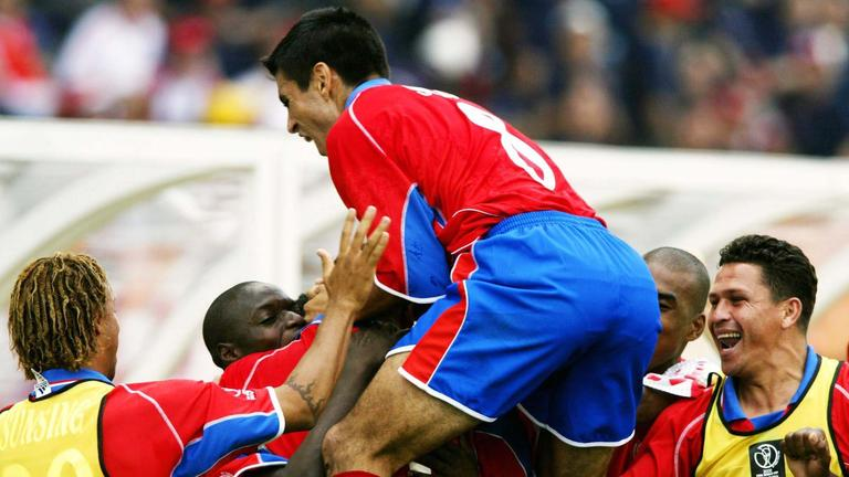 Resultado de imagen para Costa Rica 2 - 0 China mundial 2002