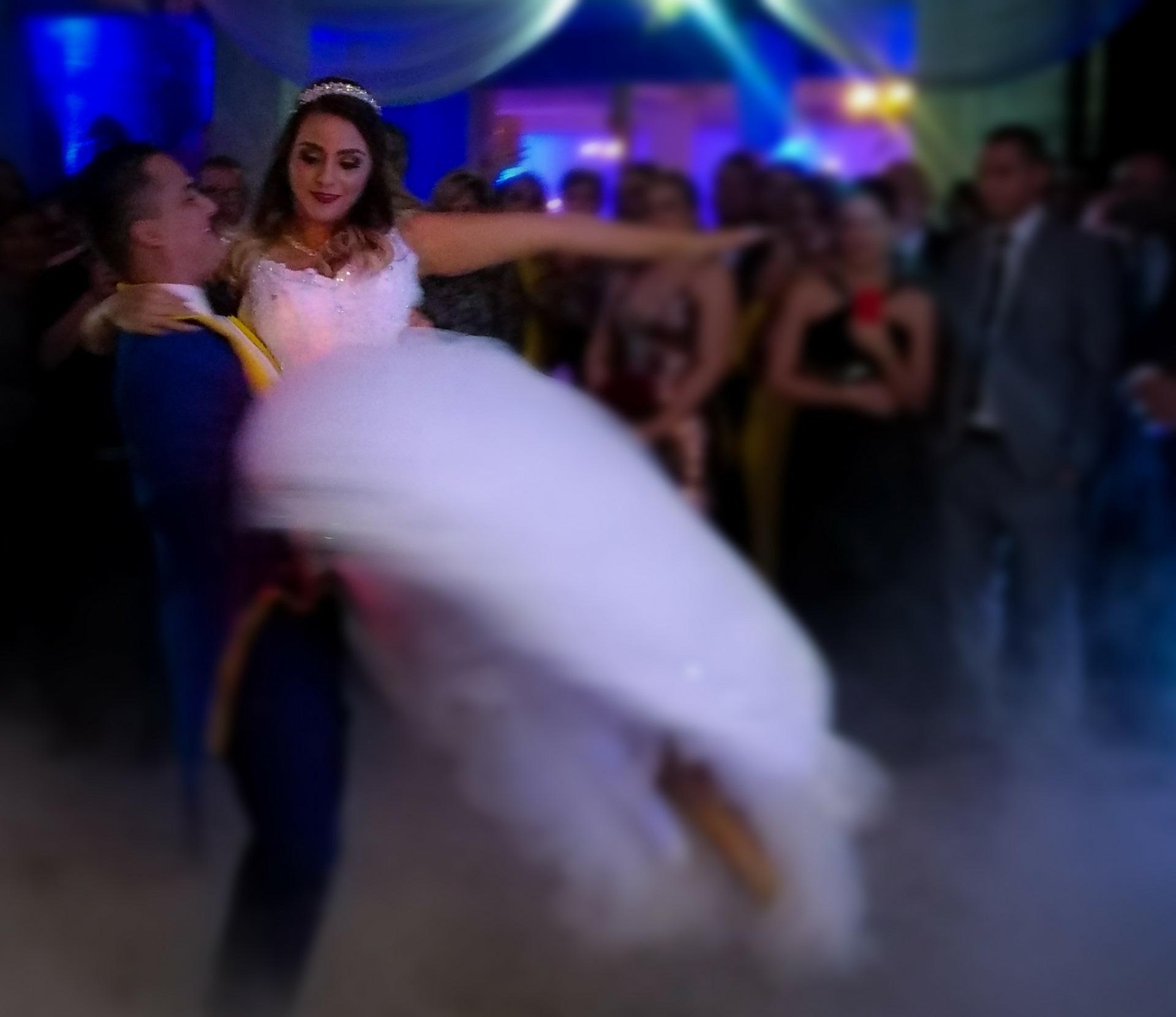 """Choché"""" se transformó en """"la Bestia"""" durante su boda"""