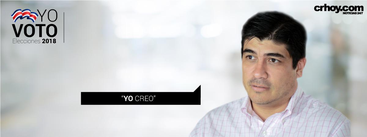 Carlos Alvarado: Yo creo