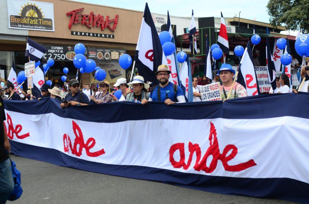 Resultado de imagen para huelga del mep en costa rica