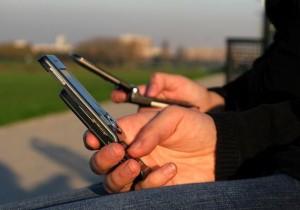 Más de 4 millones de teléfonos móviles en el país. CRH.