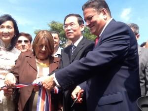 Municipalidad de San José inaugura el Barrio Chino. CRH