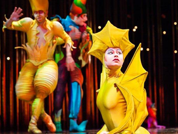 Espect culo varekai de el circo del sol toma vida en costa for Espectaculo circo de soleil
