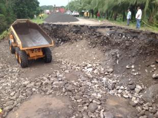 Vecinos de Río Frío amenazan con bloquear Ruta 32