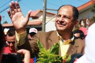 Conjunto de situaciones colocaron a Luis Guillermo Solís a un paso de la presidencia