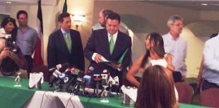"""Araya: """"Costa Rica no puede salir adelante con la hegemonía de un solo partido"""""""