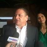 Araya se dirige con su equipo de campaña al Balcón Verde