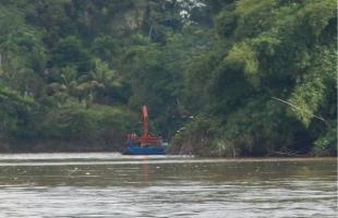 El gobierno denunció en noviembre de 2014 una incursión indebida en Isla Calero. Casa Presidencial para CRH/Archivo