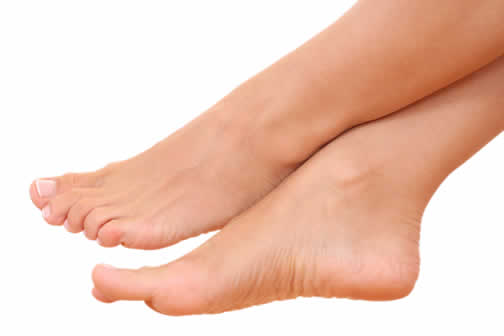tengo la piel de los pies reseca