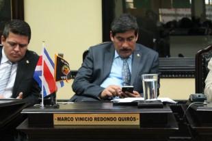 El diputado Marco Redondo, del PAC. Archivo CRH