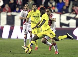 Joel Campbell sale como estelar en juego del Villarreal ante el Sevilla