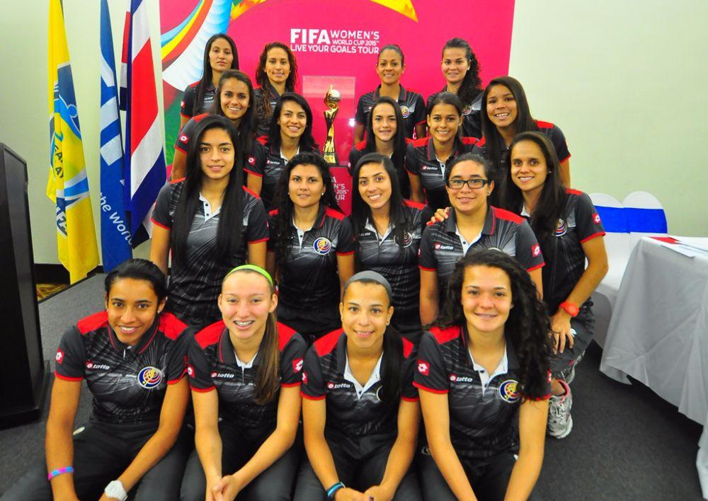 Selección Femenina será el equipo que estrene nuevo uniforme tricolor a328cf44872f2