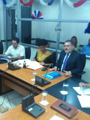 La presidenta de Japdeva, Anne Mc Kinley afirmó que no conocía a Macho Coca. Archivo CRH.
