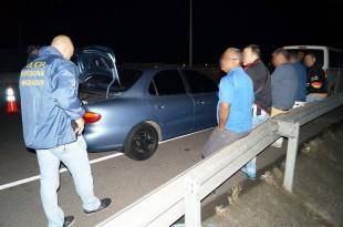 Costarricense detenido por tráfico de cubanos