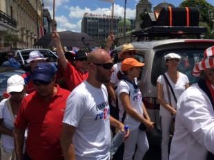 Un 'taxista a mucha honra' orquestó marcha contra Recope