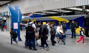 Múnich da la bienvenida a varios centenares de refugiados