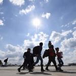 Llegan a Austria otros 3.000 refugiados, camino a Alemania