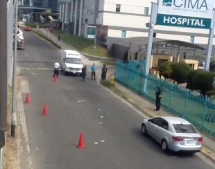 En marzo un hombre fue acribillado, en plena luz del día, a un costado del Hospital Cima. Archivo CRH