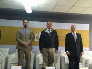 El presidente Luis Guillermo Solís se refirió a los cuestionamientos al ministro de Obras Públicas. CRH.