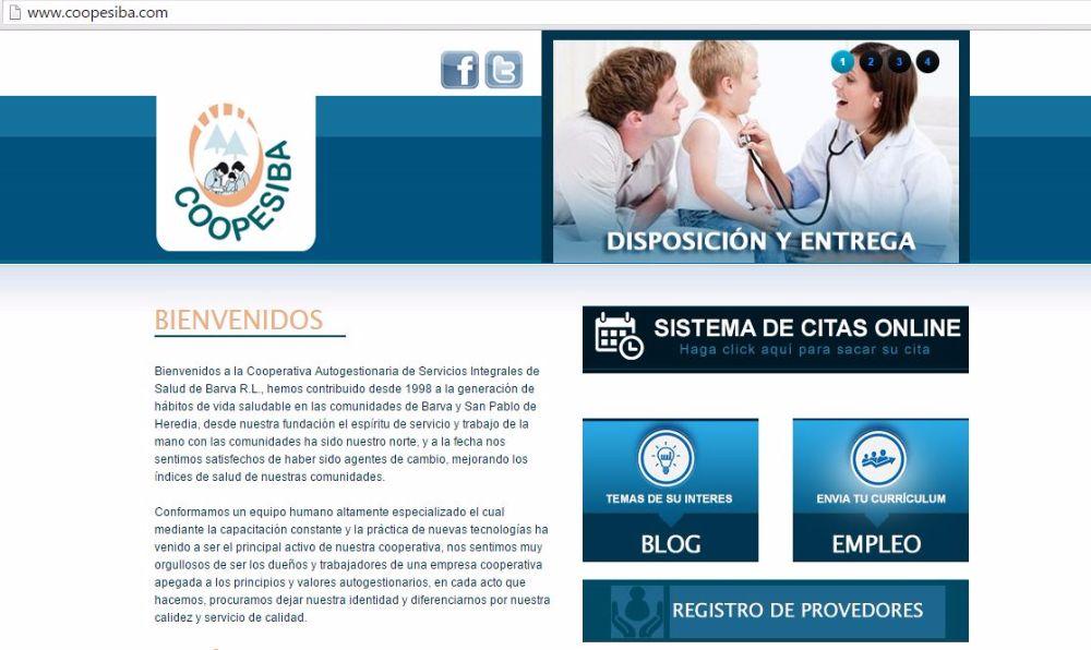CCSS recomienda a COOPESIBA R.L.