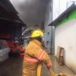 Incendio en Pavas consume un rancho