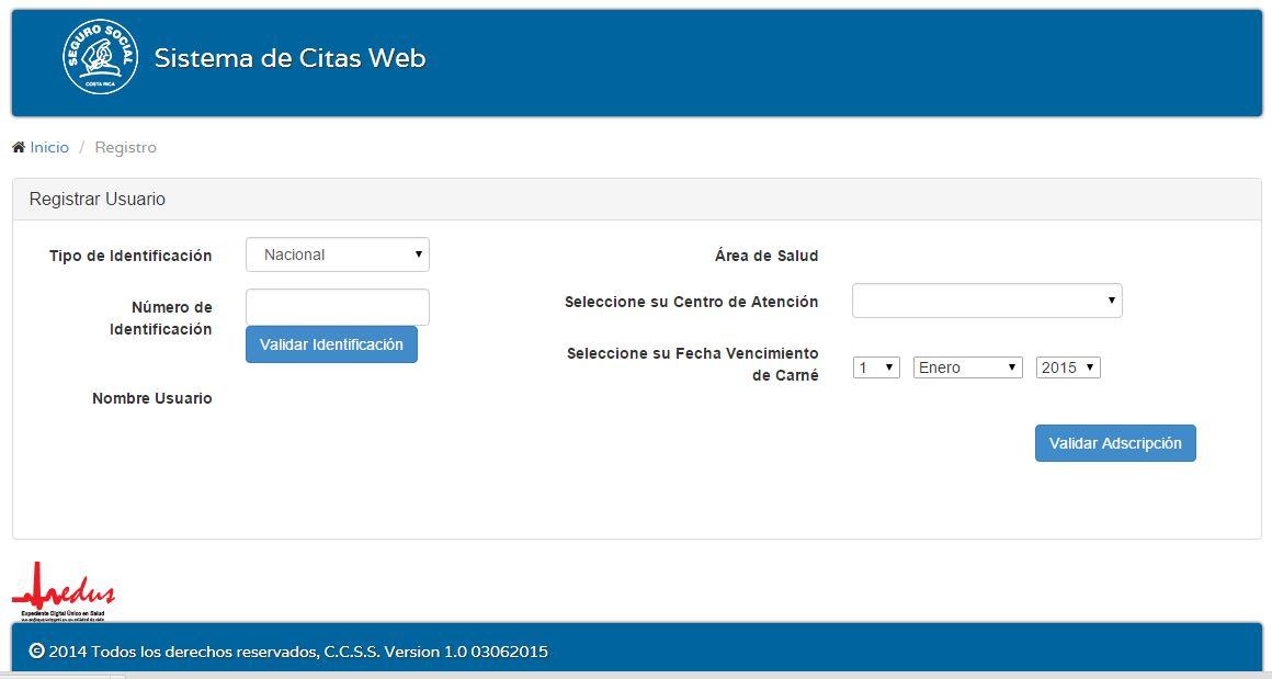 Citas web ccss