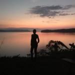 La foto del día amanecer en Rincón de Osa