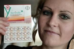Felicitas Rohrer, demanda a Baer por una serie de problemas médicos que ha tenido tras tomar las pastillas anticonceptivas Yasminelle (Yasmin o YAZ) AFP PHOTO / FREDERICK FLORIN