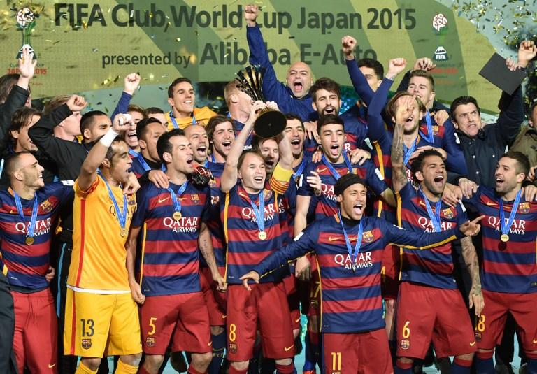 Resultado de imagen para BARCELONA 2015 mundial de clubes