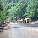 Cierran ruta 32 por caída de materiales