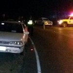 Localizan carro en que huyeron asaltantes de banco en Puriscal