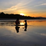 La foto del día amanecer en playa Coyote
