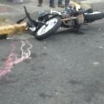 Reconoce moto robada en La Uruca y le tira el carro encima
